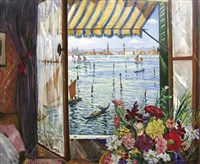 from a venetian window by christopher richard wynne nevinson