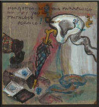 forgotten like this parapluice am i by you<br /><br /> faithless bernice by baroness elsa von freytag-loringhoven