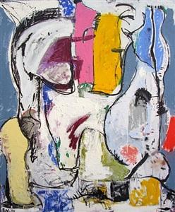 happy painting by eddie martinez