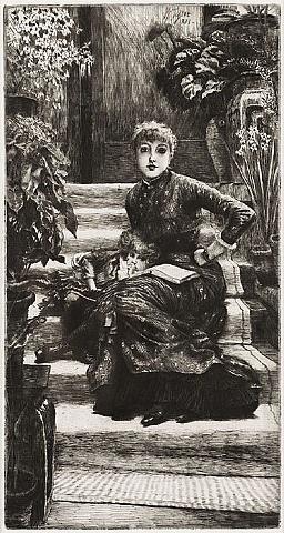 la soeur aînée (the elder sister) by james jacques joseph tissot