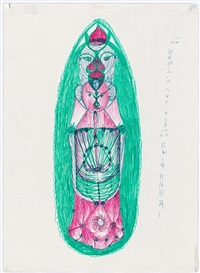 diagram of the body's meridians i by guo fengyi