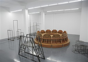 round table by liu wei