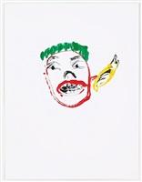 untitled work on paper #28 by dan mccarthy