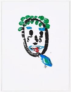 untitled work on paper #27 by dan mccarthy