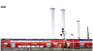 urban. train, berlin by kino acosta