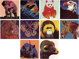 endangered species by andy warhol