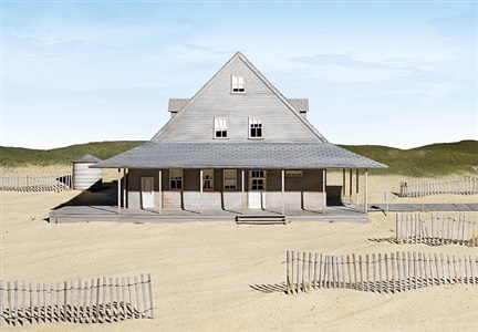 caffeys inlet lifesaving station dare county nc by james casebere