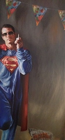 superman's smoke break ii by joseph simeone