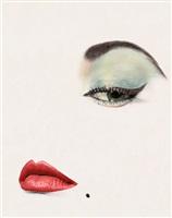 doe eye, jean patchett, vogue, new york, 1 january 1950 by erwin blumenfeld