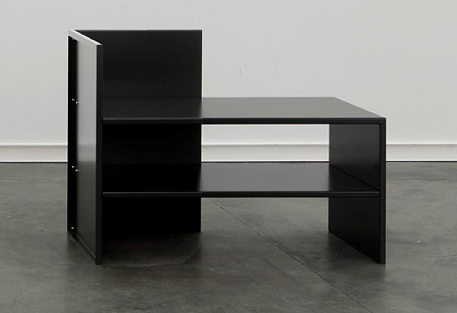 corner bench #53 by donald judd