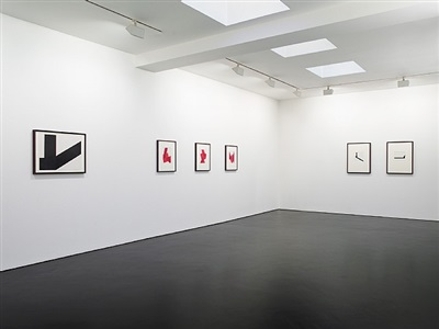 installation view of manuel espinosa at stephen friedman gallery, london. photography stephen white. by manuel espinosa