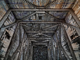 stepwell #4, sagar kund baori, bundi, rajasthan, india by edward burtynsky