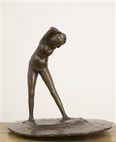 girl on round base by reg butler