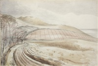 dorset landscape by paul nash