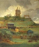 the moulin de la galette by paul vogler