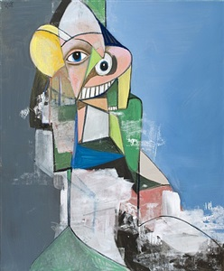 heading out by george condo