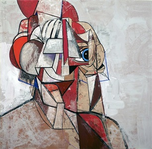 iron man by george condo