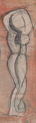 dancing figure by cuthbert hamilton