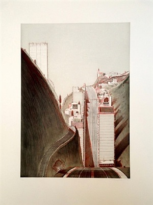 park place variation by wayne thiebaud