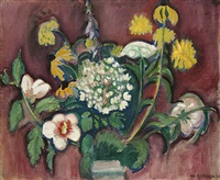 untitled (floral still life) by william zorach