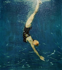 pool diver by eric zener