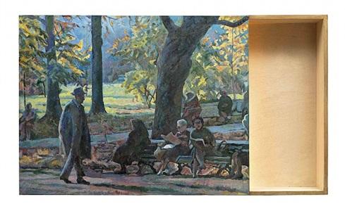 charles rosenthal, im park 1930 by ilya & emilia kabakov