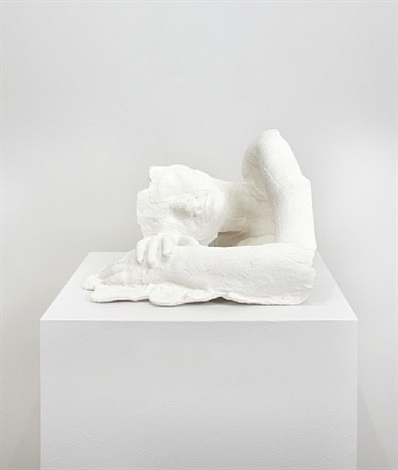 fragment: girl resting by george segal