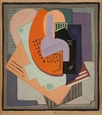 abstract composition by blanche lazzell