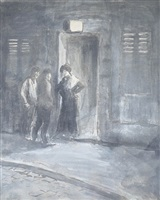 entering the brothel by théophile alexandre steinlen