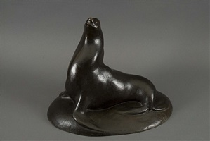 seal (sea lion) lf 222 by gaston lachaise