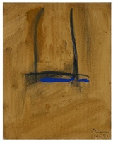 study for shem the penman by robert motherwell