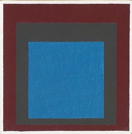 homage to the square (jaaf 1976.1.208) by josef albers