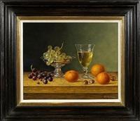 white wine with hazelnuts by roy hodrien