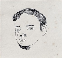 young man by lucian freud
