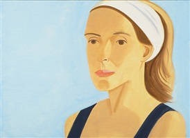 white band (suzette) by alex katz