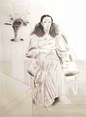 brooke hopper by david hockney