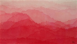 red mountains by minjung kim