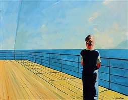 looking out to sea by tracey sylvester harris