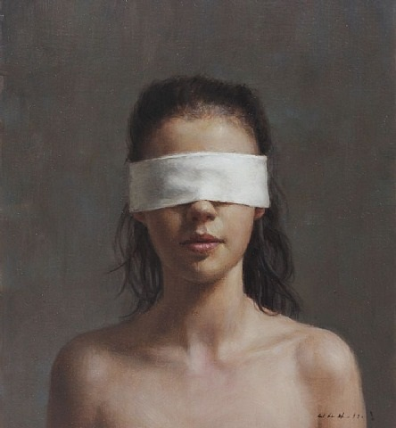 blindfold by harry holland