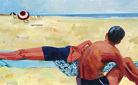 sunday afternoon by tracey sylvester harris