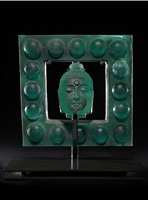 jade square buddha by marlene rose