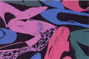 shoes #254 by andy warhol
