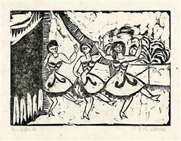drei tänzerinnen by ernst ludwig kirchner