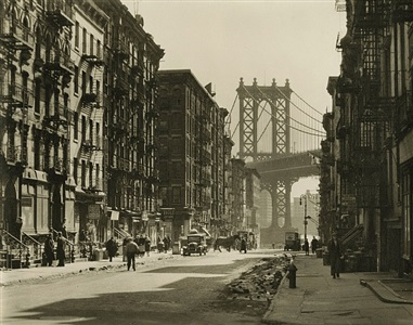 pike and henry streets by berenice abbott