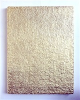 untitled (mono gold carpet i) by charles lutz