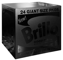 brillo (black box) by charles lutz