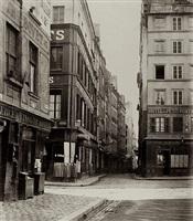 carrefour des rues de la bucherie by charles marville