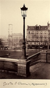 gare de l'ouest by charles marville