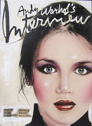 isabelle adjani (interview maquette) by richard bernstein