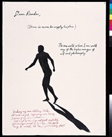 no title (dear reader (there)) by raymond pettibon